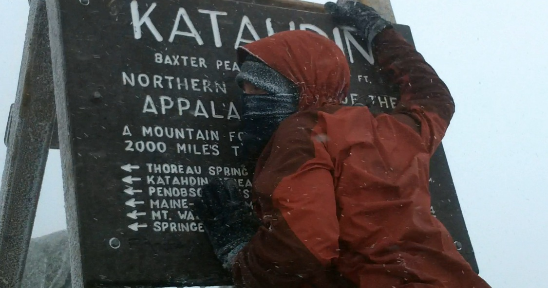 "Summiting Katahdin- The ""Side Hike"" of the Year"